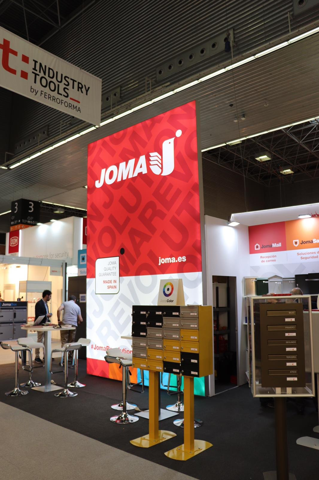 JOMA at Industry Tools by Ferroforma 2019