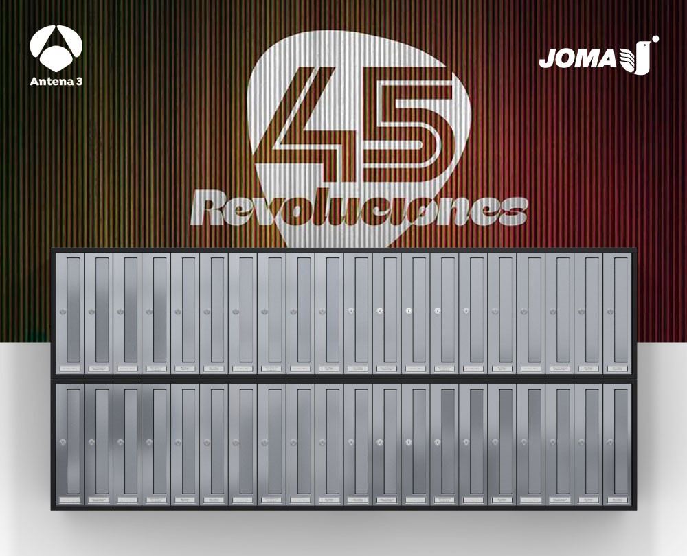 """COSMOS PUSH 320"" by Joma in the series ""45 REVOLUCIONES"" of A3"